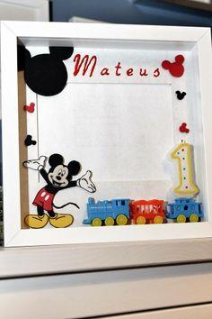 Quadro Mickey - 1º aniversário