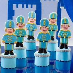 Nutcracker Sweets: Shortbread Soldiers (via Parents.com)