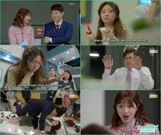 jo man give cpr kiss to seol hee as the cherry stucked in her neck - Fight for my Way: Episode 3 korean drama