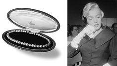 Marilyn Monroe iperły Mikimoto