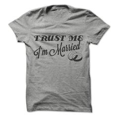 Holiday Gift Buys: Trust Me I'm Married. For Those Who Have Taken The Vows To Make It Last A Lifetime. #trustmeclothier #trustme #marriage #commitment #vows #tietheknot #honeymoon #destinationwedding #engagement #weddingplanner #wedding #nuptials #union #prison #usa #mexico #canada #germany #england #ireland #australia #newzealand #france #uae #jordan #spain #sweden #norway #denmark #finland #italy Shop Online At trustmetee.com