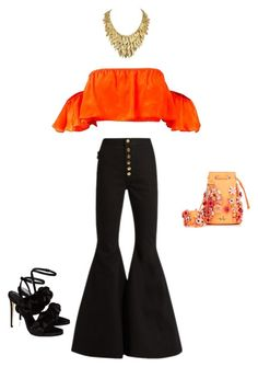 """""""Untitled #52"""" by aloona-panda on Polyvore featuring E L L E R Y, Marina Hoermanseder and Marco de Vincenzo"""