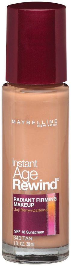Maybelline New York Instant Age Rewind Radiant Firming Makeup, Tan 340, 1 Fluid Ounce, Pack of 2 >>> This is an Amazon Affiliate link. For more information, visit image link.