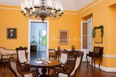 west indies dining room parlor Whim Plantation St. Croix, US Virgin Islands