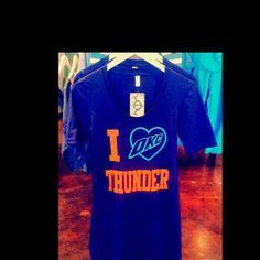 I heart OKC Thunder T-shirt dress