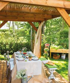 My inner landscape: Photo Outdoor Retreat, Outdoor Seating, Outdoor Dining, Outdoor Decor, Outdoor Living Rooms, Outdoor Spaces, Mexican Patio, Outside Room, Enclosed Patio