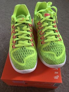 on sale 0257c 88475 Extra Off Coupon So Cheap Woman s Nike LunarTempo UK Size Sports Running  Shoe Trainer