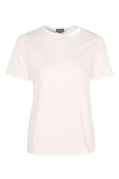 Choker Neck Slash T-Shirt