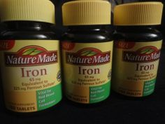 Nature Made Iron 65mg 540 Tablets Vital for Red Blood Cell Formation Value Size | eBay