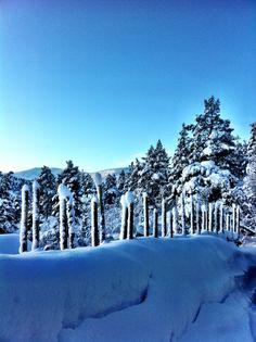 Winter, Norway, Hovden