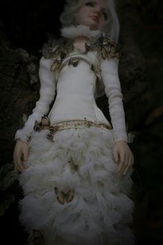 ''Papillon'' by Romantic Wonders Dolls Ooak Dolls, Art Dolls, Handicraft, Victorian, Romantic, Handmade, Decor, Fashion, Butterflies