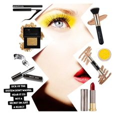 """""""suck it up, buttercup"""" by beaniesandbowties ❤ liked on Polyvore featuring beauty, Urban Decay, Forever 21, Bobbi Brown Cosmetics and Lancôme"""