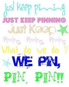 Just keep pinning!