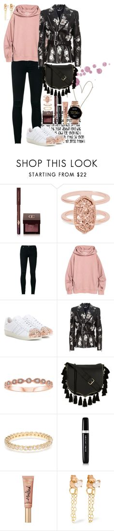 """plane, plan, pans, pen #1218"" by natalia ❤ liked on Polyvore featuring Charlotte Tilbury, Kendra Scott, J Brand, adidas Originals, Alexander McQueen, Rebecca Minkoff, Marc Jacobs, Too Faced Cosmetics, Melissa Joy Manning and FOSSIL"