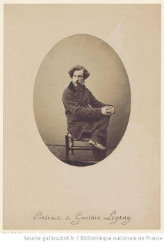 Autoportrait de Gustave Le Gray / Gustave Le Gray self-portrait, 1850-1855, Bibliothèque nationale de France