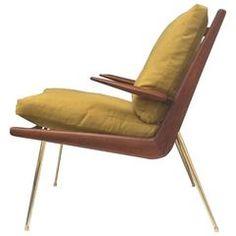 Boomerang Chair by Peter Hvidt, Denmark, 1950s