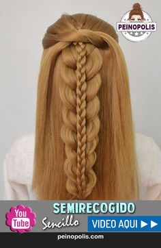 Stacked Fishtail Braid | Hairstyles for school | Easy Hairstyles ...