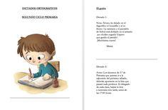 DICTADOS ORTOGRÁFICOS SEGUNDO CICLO PRIMARIA editables