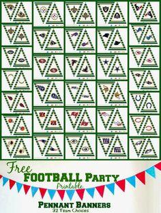 Sport Banner Ideas Football Parties 64 Ideas For 2019 Football Banner, Free Football, Football Themes, Football Birthday, Football Boys, Football Humor, Football Parties, Football Season, Football Shirts