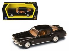 1971 Buick Riviera GS Black Diecast Model Car 1/43 by Road Signature - Brand new 1:43 scale diecast car model of 1971 Buick Riviera GS Black die cast car by Road Signature. Brand new box. Rubber tires. Detailed interior, exterior. Dimensions approximately L-4 inches. Please note that manufacturer may change packing box at any time. Product will stay exactly the same.-Weight: 1. Height: 5. Width: 9. Box Weight: 1. Box Width: 9. Box Height: 5. Box Depth: 5