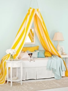 Yellow bedroom by helga