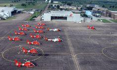 US Coast Guard Helicopters…Coast Guard Aviation Training Center Mobile Ala.