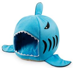 This shark bed that will have your pet chomping at the bit. | 39 Affordable Things On Amazon You Will Actually Want