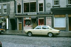 1980-08 The 'Royal Mile Cafe', High Street, Edinburgh, Scotland