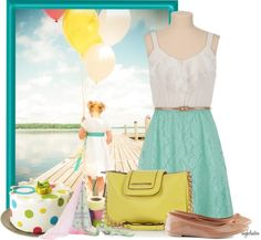 """""""Let's Celebrate!"""" by angkclaxton ❤ liked on Polyvore"""