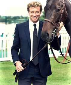 Oh my goodness! Simon plus a horse? Can it get any better? Erm??? No!