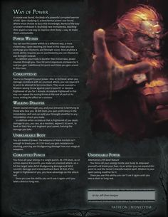 Dungeons And Dragons Classes, Dungeons And Dragons Homebrew, Dnd Characters, Fantasy Characters, Dnd Dragons, Dnd Races, Dnd Classes, Dnd 5e Homebrew, Dnd Monsters