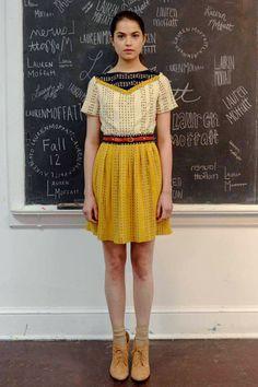 Lauren Moffatt Fall 2012