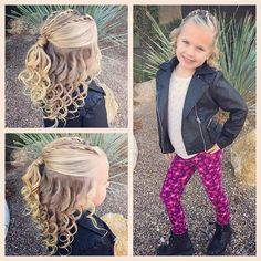 Little Girl Hairstyles Dance Hairstyles, Princess Hairstyles, Teen Hairstyles, Layered Hairstyles, Easy Toddler Hairstyles, Cute Hairstyles For Kids, Little Girl Hairdos, Little Girl Braids, Girly Girl