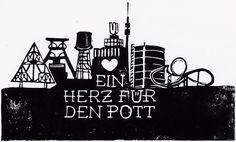 Mitten im Pott, in Essen auf dem Gelände der Zeche Zollverein, da kommen wir her! Knackstream