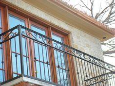 Wrought Iron Deck Railing - Stair Railings