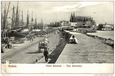 PALMA. VISTA GENERAL #palmademallorca #postal #antigua #baleares