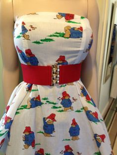 Paddington Bear Dress