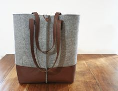 Hey, I found this really awesome Etsy listing at https://www.etsy.com/listing/231407391/leather-tote-bag-handmade-bagfelt