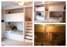 Bunk beds with privacy and actual stairs. I hate those ladders that 99.9% of bunks come with.