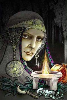 Image result for Hecate greek mythology images
