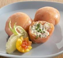 Recette - Roulés de saumon Temari ball & fromage frais - Notée 5/5 par les internautes