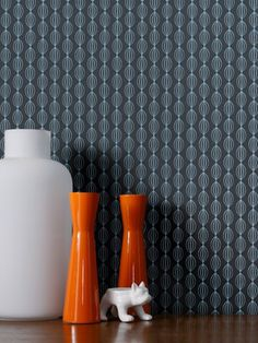 Perle Teal Wallpaper by Graham and Brown Faux Brick Wallpaper, Hallway Wallpaper, Plain Wallpaper, Damask Wallpaper, Retro Wallpaper, Home Wallpaper, Wallpaper Designs, Contemporary Wallpaper, Traditional Wallpaper