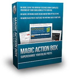 Magic Action Box (http://www.magicactionbox.com/) - A WordPress plugin that makes it easy to create custom and professional 'Action Boxes' without knowing HTML/CSS. For example, if you've always wanted an email optin after each of your blog posts, this tool can do that. It integrates with Aweber and MailChimp. Free plan available to take it for a test drive. The Lite plan is $47 and there is a Pro plan for developers at $97.