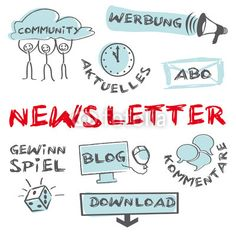 Newsletter Keywords Cloud Internet