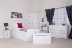 Premium Corona White Wash Bedroom Furniture Set | Shabby Chic | Brand New Brand New For 2015 Call to Order On 01527523070