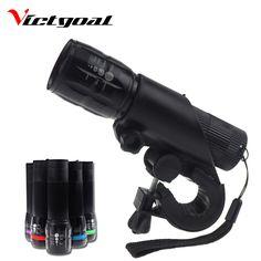 VICTGOAL Light Xe Đạp Sáng Đêm Đi Xe Đạp An Toàn Ánh Sáng Head Front Đèn Cổ Điển Làm Nổi Bật Đèn Ủng Hộ Đèn Pha K1038