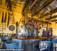 21 Pubs of the Karoo - Karoo Space Places To Travel, South Africa, Liquor Cabinet, Space, Furniture, Holidays, Home Decor, Flowers, Beauty