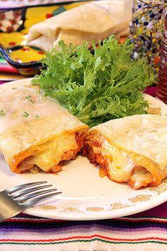 チーズがとろ~り2種のブリトー☆ソーセージ&キーマカレー by ... チーズがとろ~り2種のブリトー☆ソーセージ&キーマカレー