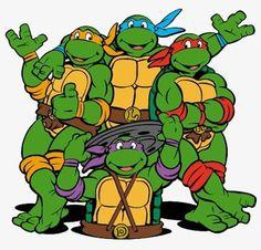 Teenage Mutant Ninja Turtles, Us Man, American Comics, Graffiti PNG Image