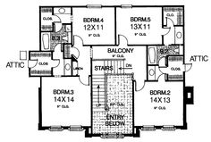 Federal colonial and colonial house plans on pinterest for Federal colonial house plans